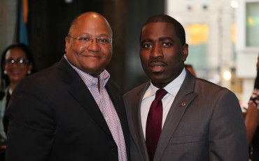 Donovan Pepper and Hon. Marcus Evans