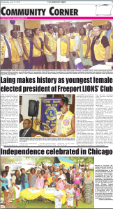 Ind. Picnic Coverage in Freeport News
