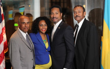 Michael Lieteau, Keisha Parker, Consul Fountain and Greg Wiley